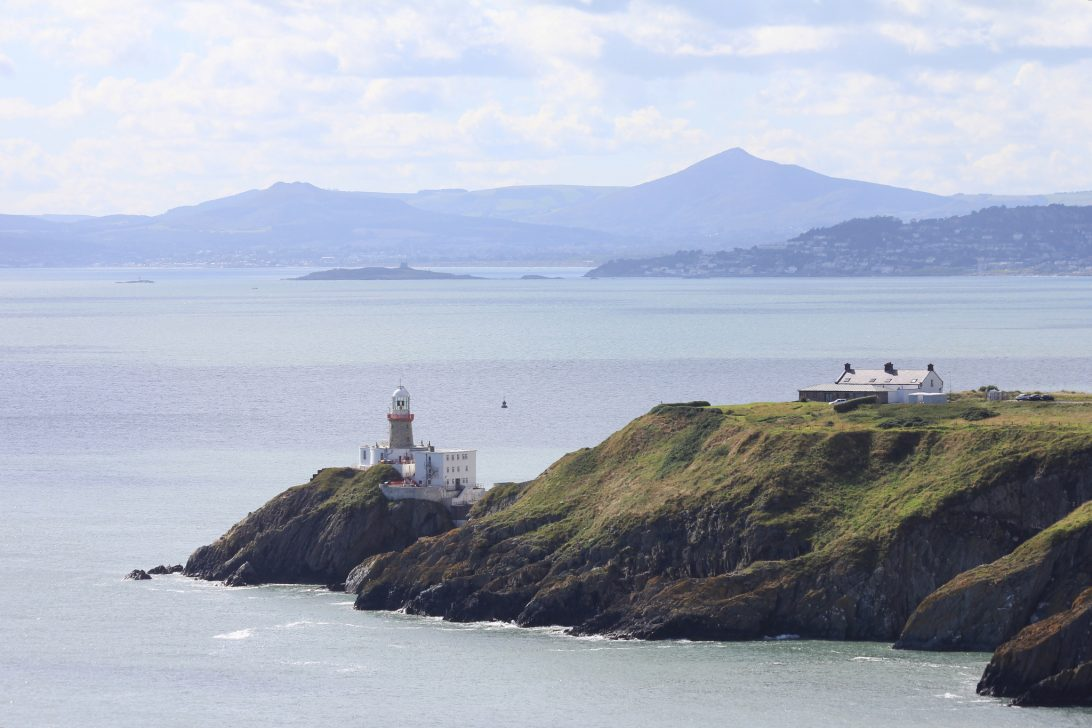 The Baily Lighthouse and Dublin Bay
