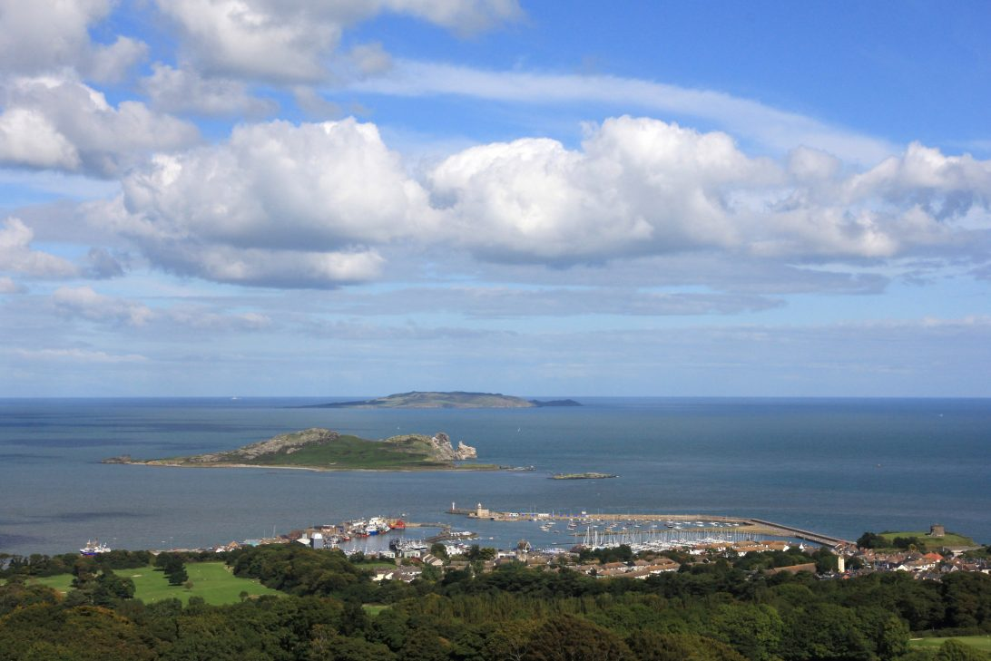 Howth Harbour, Ireland's Eye and Lambay, Co. Dublin
